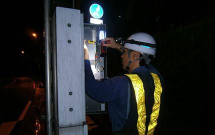 信号制御機改造