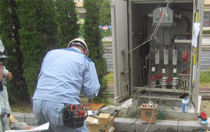 雨水排水ポンプ場電気設備更新工事