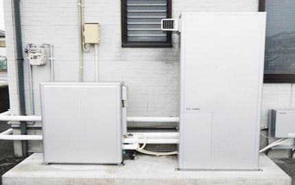 家庭用燃料電池(エネファーム)設備工事