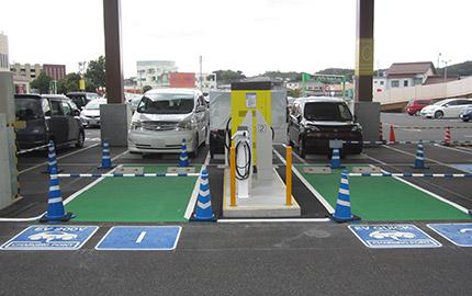 電気自動車充電設備工事
