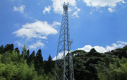 携帯電話基地局工事(鉄塔局)